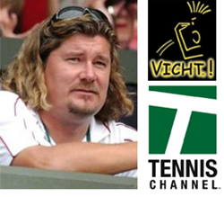 Peter Lundgren and VICHT! to appear on the Tennis Channel