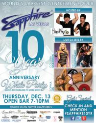 Sapphire 10th Anniversary Party December 13, 2012