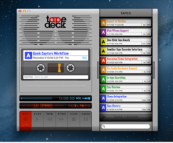 TapeDeck 1.5 offers an enhanced user experience