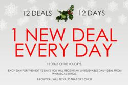 Wind Chime Deals for 12 Days During Whimsical Winds' 12 Days of Deals