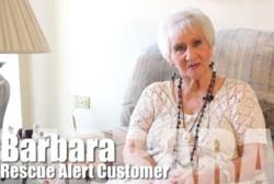 Medical Alert System Helps Barbara Live Independently.