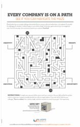 Del Monte Agency Develops Creative Print Ad with Maze