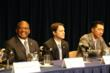 GA Senator Emanuel Jones; GA Senator Jason Carter; and Dr. Hyun Jin Moon