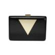Jill Milan Holland Park Clutch in black and gold.