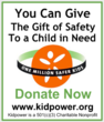 Support Kidpower's One Million Safer Kids initiative today to keep kids safe tomorrow!