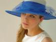 Large Brim Hat for the Kentucky Derby by Tonya Gross Millinery