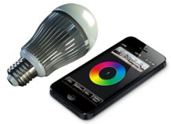 Limitless Designs LimitlessLED smartbulbs can be wirelessly controlled by iPhone or iPad