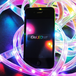 iPhone, Android & Blackberry: WiFi Controllable LED lights with SDK on Kickstarter