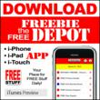 Free Stuff App by Freebie Depot