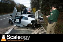 Ben Hulme Survived A Crash In A Lamborghini Which Inspired Him To Start Scaleogy.com
