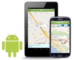 GPS tracking android app