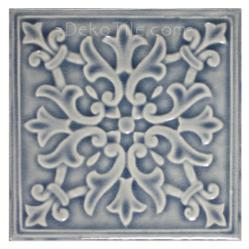 Glossy Blue Star Porcelain