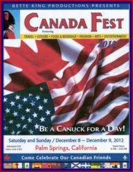 Palm Springs Canada Fest 2012