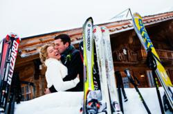 A winter destination wedding