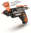 WORX SD SemiAutomatic Driver with six-slot revolving chamber gets jobs done quickly.