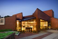 Exterior of Williams Center for the Arts at Lafayette College