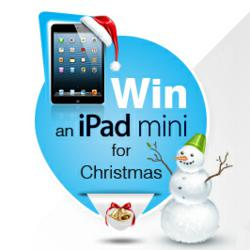 Win a iPad Mini for Christmas @ VictorianPlumbing