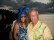 Debra and Bill Woods at The Tarpon Club at Fiddler's Creek in Naples Florida Masquerade Party