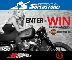 Enter to win a Roland Sands Design Customized H-D Sportster 883 from Motorcycle Superstore