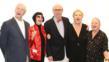 "David Leddick, Erika King, Daniel Perron, Iran Issa-Kahn, Lynne Gelfman say ""Art"" Photo by Hector Gabino"