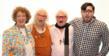 "Dahlia Morgan, Barbara Farrell, Jim Blake, Lazaro Gamio say ""Art"" Photo by Hector Gabino"