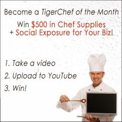 The TigerChef of the Month Will Receive $500 Worth of Restaurant Supplies