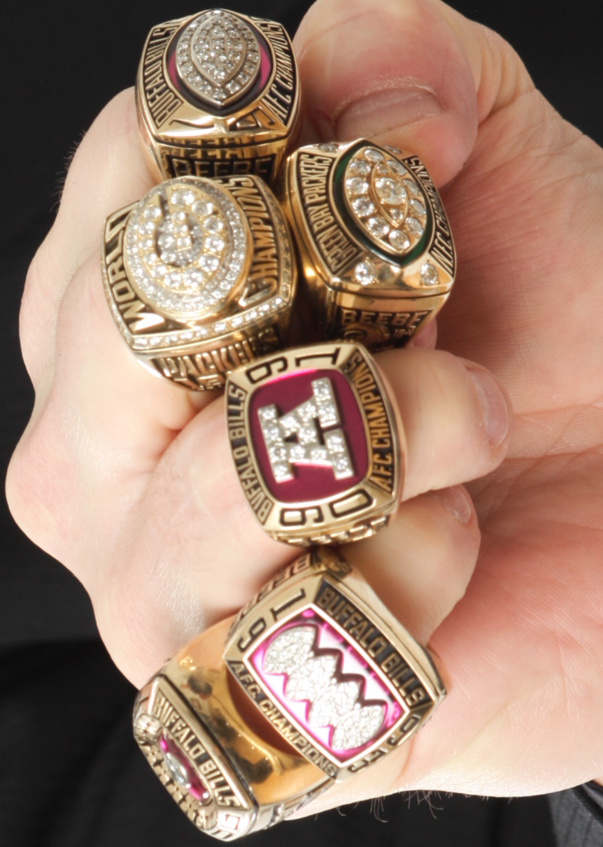 Don Beebe Super Bowl Rings