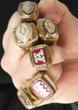 Don Beebe Six Super Bowl Rings