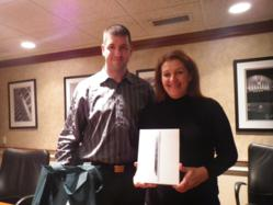 Bridget Mulcahy & Nate Kosman - CRNA Financial's iPad WINNER!