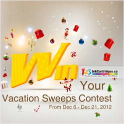 Vacation Sweepstakes Contest