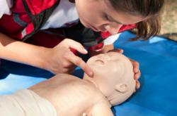 Cultural Care au pairs receive CPR and First Aid training at the Au Pair Training School
