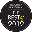 "CSC wins ""Best Incorporation Services"" in New Jersey Law Journal's ""2012 Best"" awards"