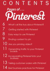 "The Contents of ""The Ten Most Important Things To Know About Pinterest"""