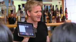 pos Lavu on Kitchen Nightmares TV with Zephyr Hardware and APG cash drawer