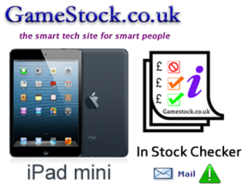 GameStock - Mini iPad Stock Check