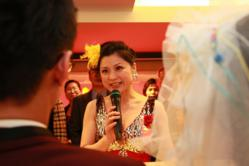 Matchmaker Hellen Chen wed couples who were at one point afraid and skeptical of marriage