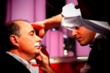 eShave's Master Barber Shaves Off David Axelrod's 40 Year Old Mustache...