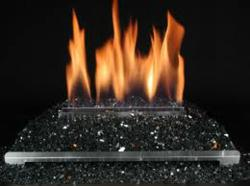 Gas Fireplace Glass Door: Severe Burn threat