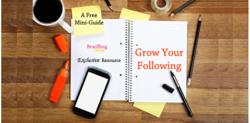 A Free Guide with tips on growing social media followers and blog subscribers