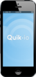QuikIO for the iPhone -- easy to download and open to view any media content