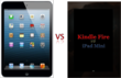 Kindle Fire HD vs iPad Mini comparison