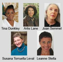 2013 WCA Lifetime Achievement and President's Art & Activism Awardees