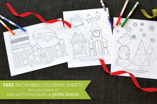 Christmas Colouring Pictures To Print Off : Cute christmas printables and coloring pages perfect for