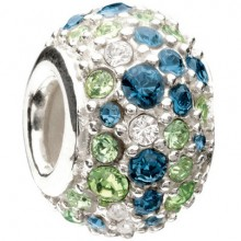 Chamilia Jeweled Kaleidoscope Give Back Bead