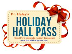 weight loss, how to diet, holidays, weight loss expert, weight loss plan, dr. haley perlus, holiday hall pass,