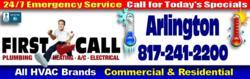 First Call Air Conditioning Repair in Arlington, TX