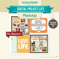 Jessica Sprague's Digital Project Life with Photoshop