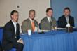 From Left to Right: Mike Byam, CIO, Commercial Lines, The Hartford; Doug Casey, Director of Technology, Capital Region Education Council (CREC); Allan Campbell, Vice President and CTO, MassMutual; Joe Held, Senior Vice President & Global CIO, Readers Digest Association, Inc.