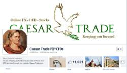 CaesarTrade's FX-CFD Facebook Page