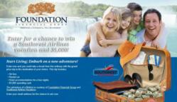 Foundation Financial Group's Start Living Sweepstakes Entry Deadline Nears